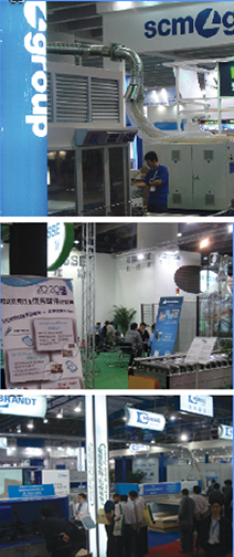 CIFM / Interzum Guangzhou (China) 2012, five months after SCM, Biesse and Homag boycotted Canada's WMS.