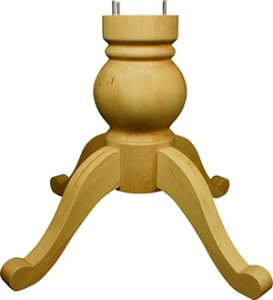 Knotty pedestals