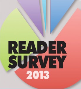 Reader survey 2013