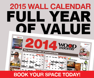 Wood Industry 2015 wall calendar
