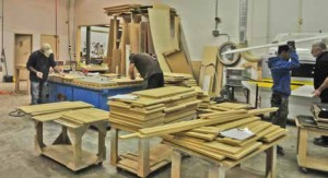 Lovech has remained competitive by investing in CNC equipment. These days, the company is going after business making doors and cabinets for other shops.
