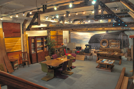 """The main showroom has a look and ambiance that often evokes a """"wow"""" from customers when they visit, says Litwin."""