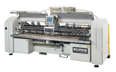 Crossfees Veneer Splicer KUPER ACR 3200 - Product - LIGNA HANNOV