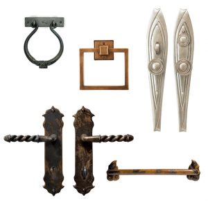 Door hardware claims recycled content