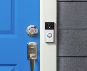 Smart lock system pairs with video doorbell