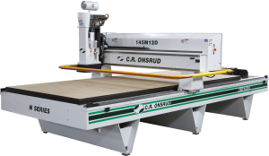 CNC machine sports small footprint