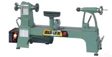Variable speed wood lathe
