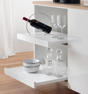 Pull-out shelf system