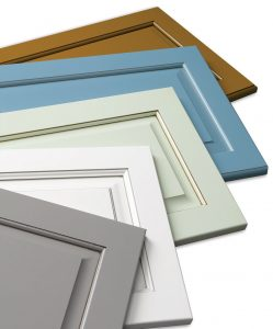 Paint program for cabinet components