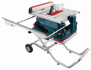 A Bosch Reaxx table saw.