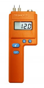 Moisture meter for woodworkers