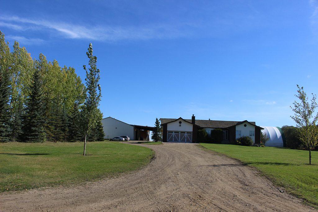 Palladium Products is in Sturgeon County, Alta., 30 km northwest of Edmonton.