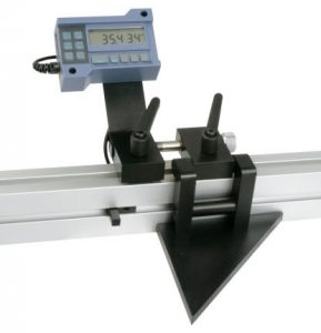 Miter saw digital stop and fence system