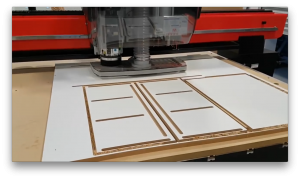All-in-one CNC machine for cabinet making