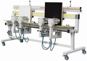 Edgebanding presses have multiple heating elements