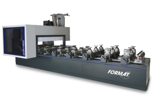 CNC machining centre features 5-axis routing