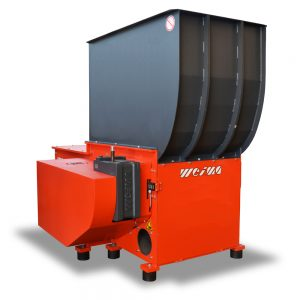 Wood and timber waste shredder