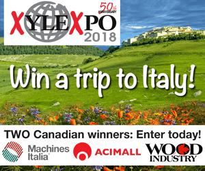 Xylexpo 2018 contest