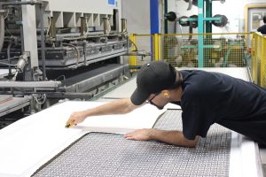 Door and countertop production driven by people, technology