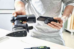 Cordless sander offers same functionality as corded version