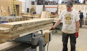 Barns reborn as custom furniture