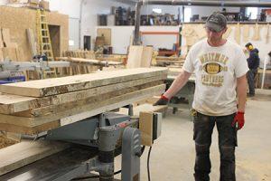 Barns reborn as custom furniture