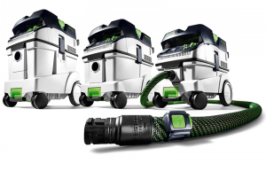 Dust extractors with suction hose, Bluetooth and remote control