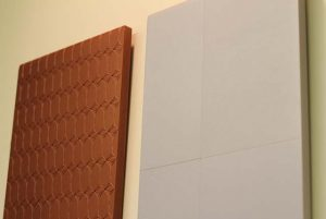 Powder-coated MDF components